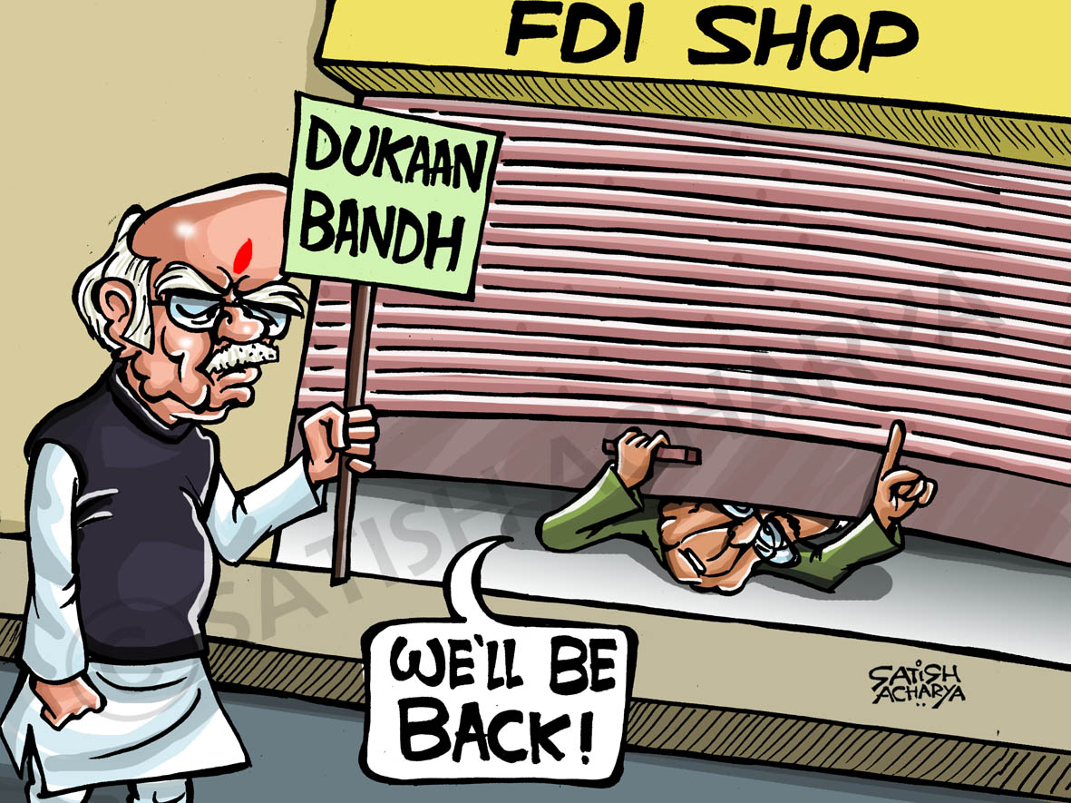 fdi cartoons arriere pensee fdi cartoon n political cartoons advani
