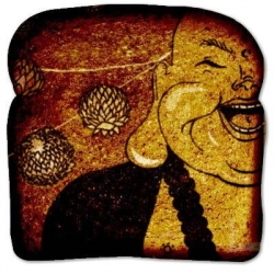 laughing buddha art